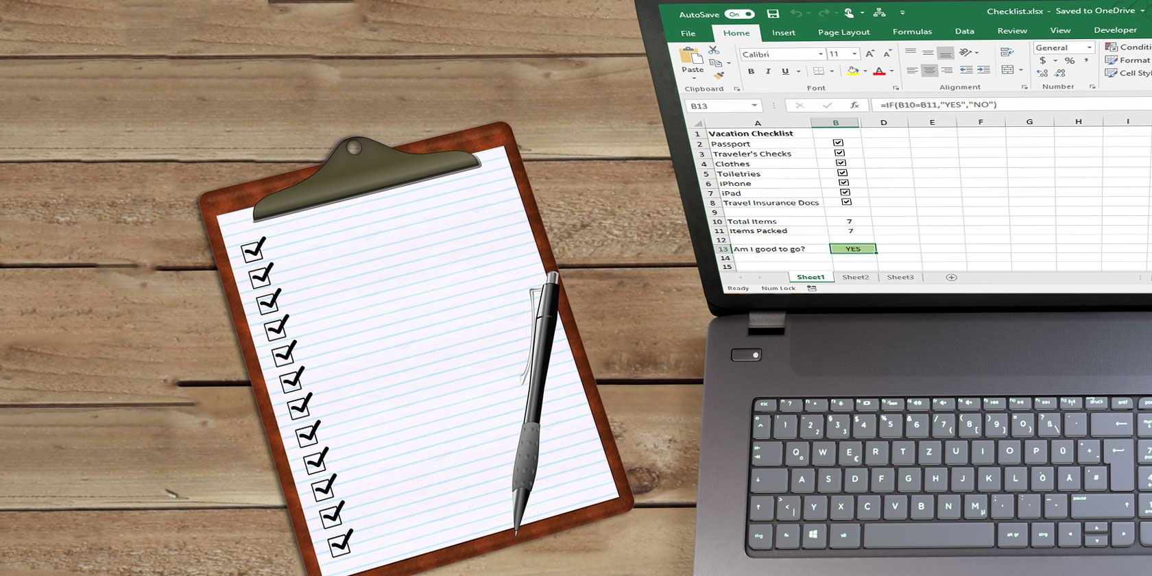 How to Create a Checklist in Microsoft Excel | MakeUseOf