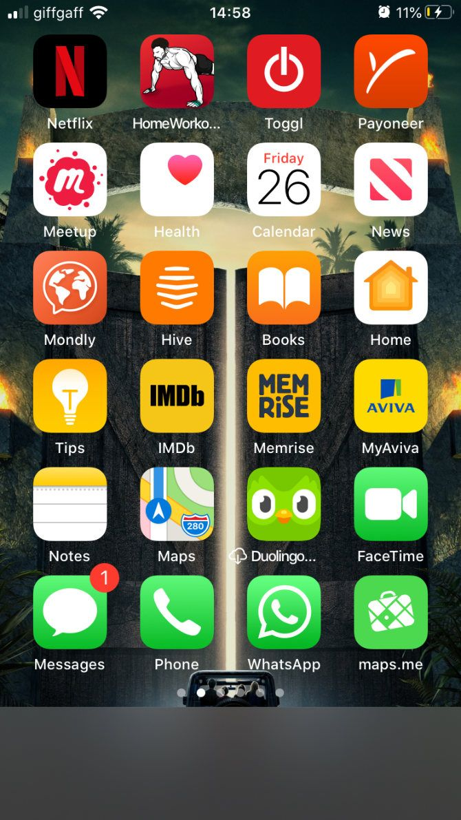 15 Creative Layouts To Organize Your Iphone Home Screen